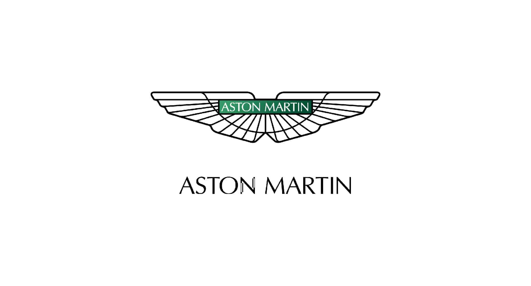 aston martin branding
