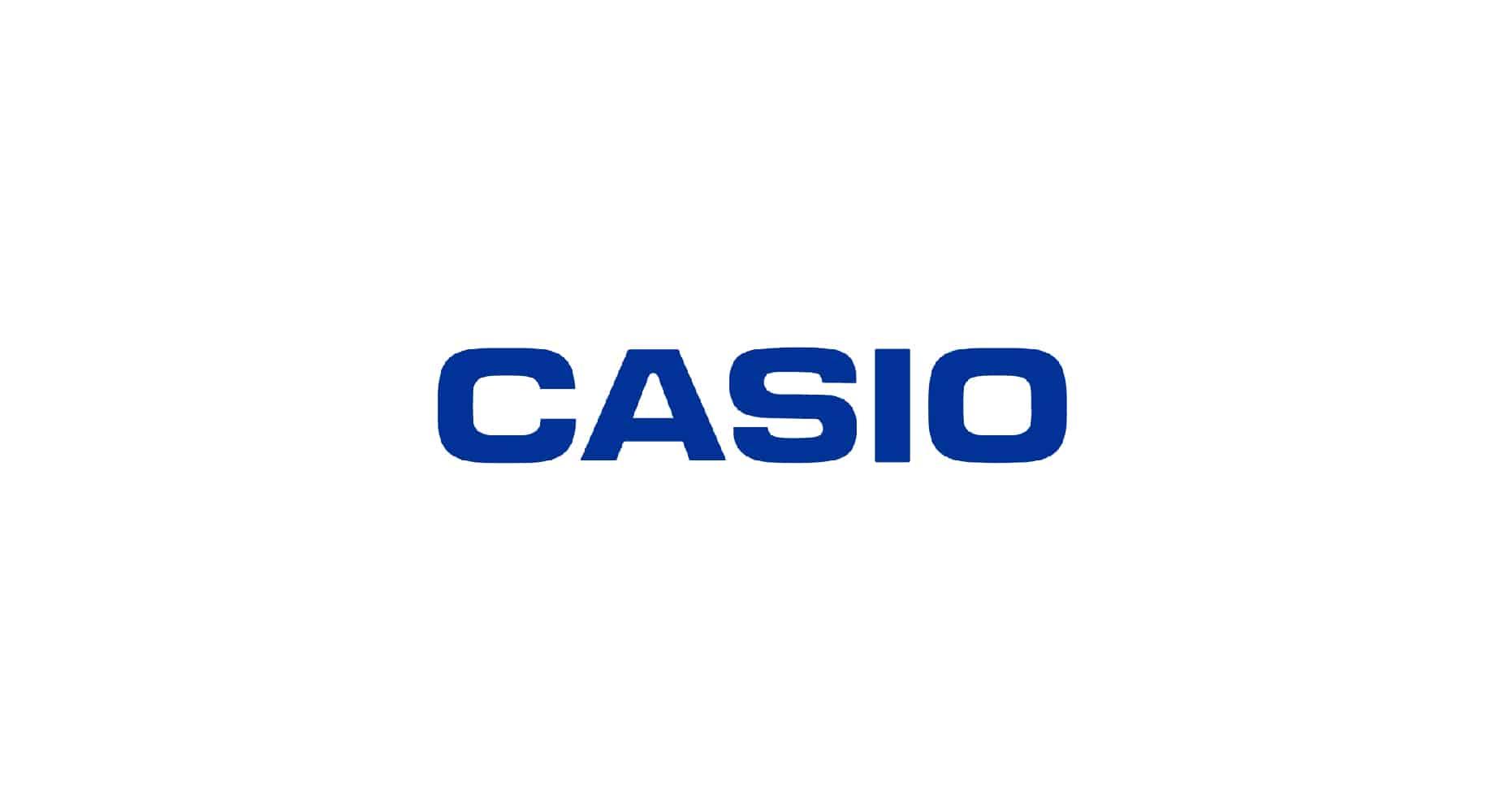 casio logo design