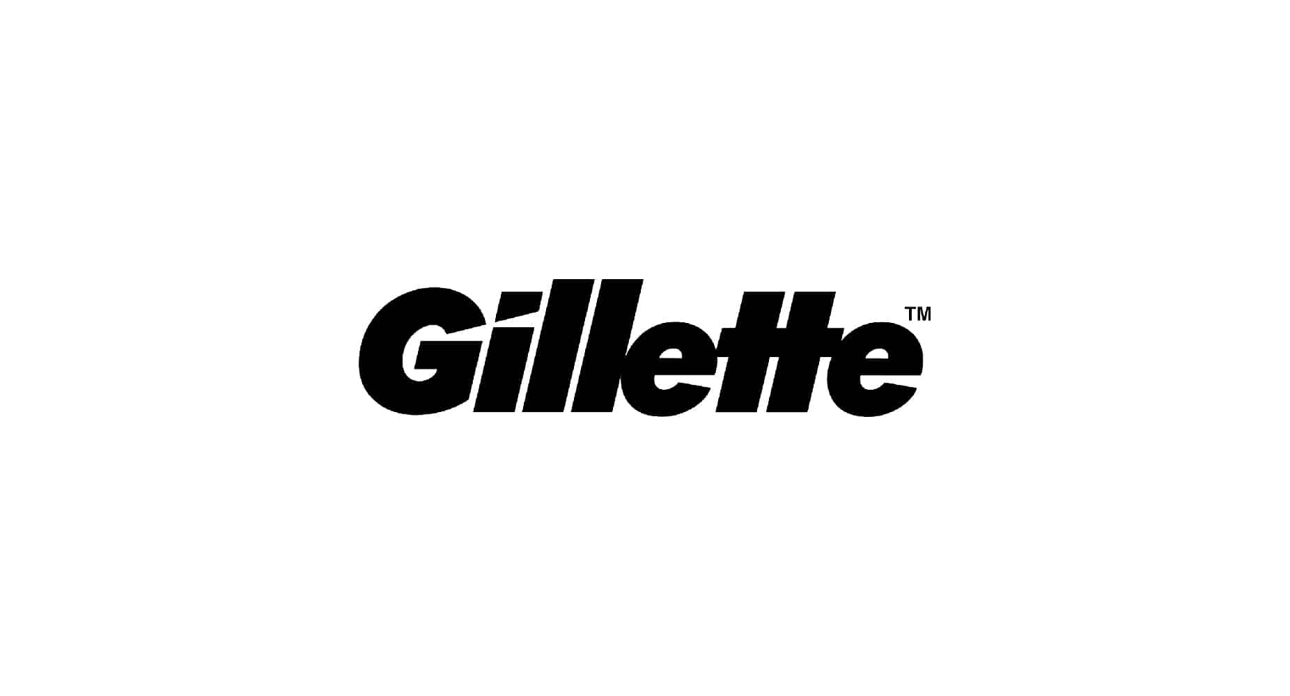gillette logo design