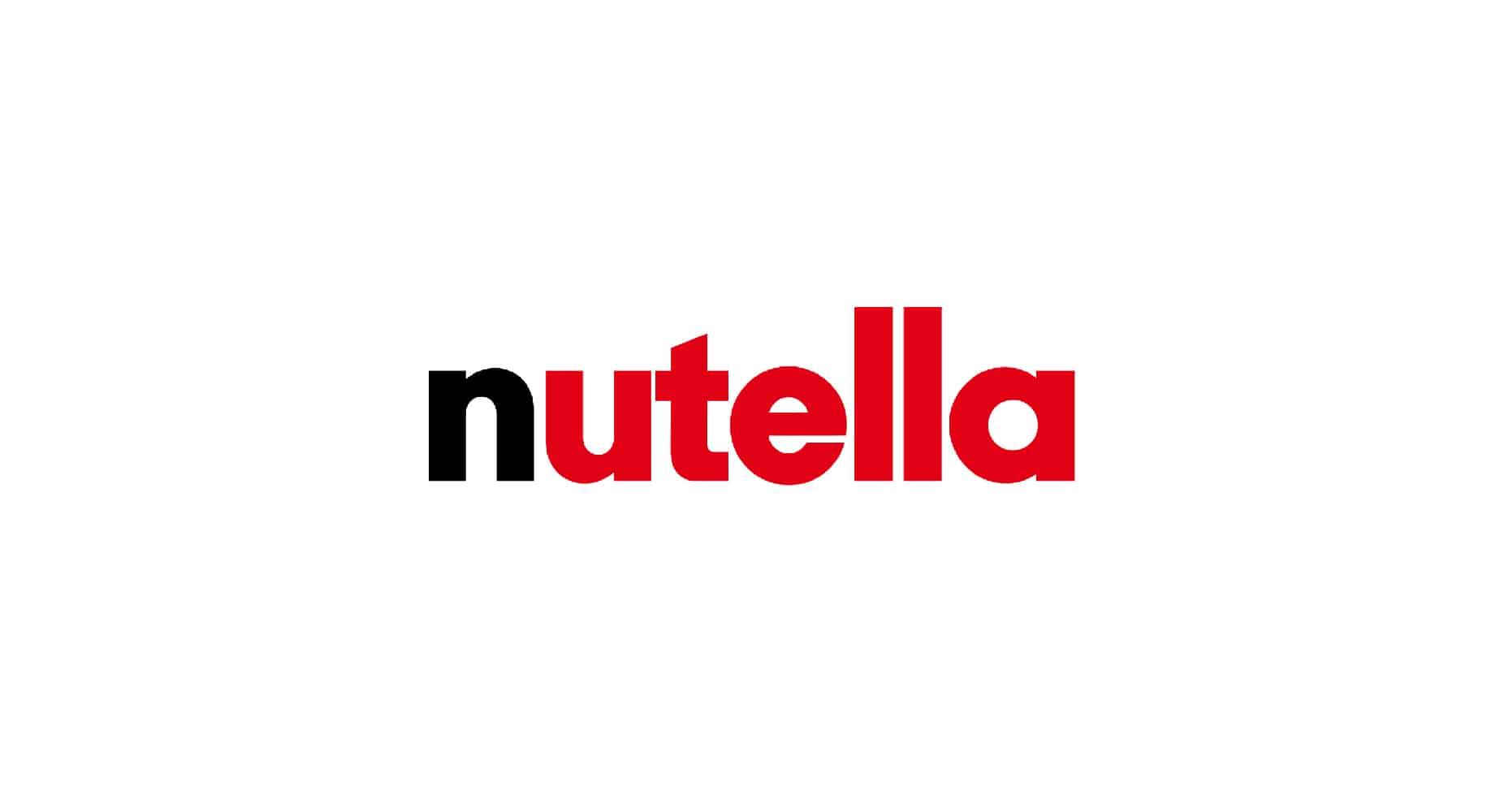 nutella logo design