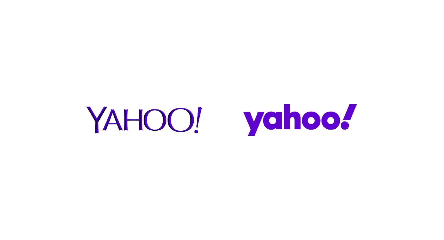 yahoo logo design